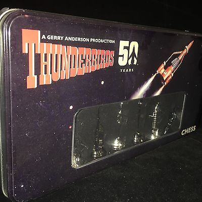 Thunderbirds Limited Edition Chess Set 3D New Toy Sale