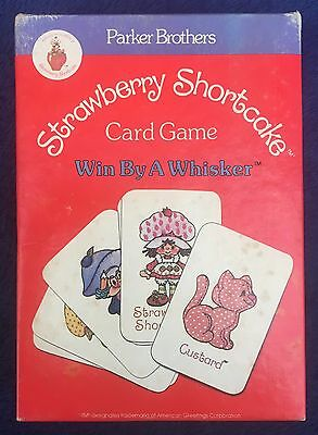 Strawberry Shortcake Card Game - 'Win By A Whisker' by Parker Brothers 1979