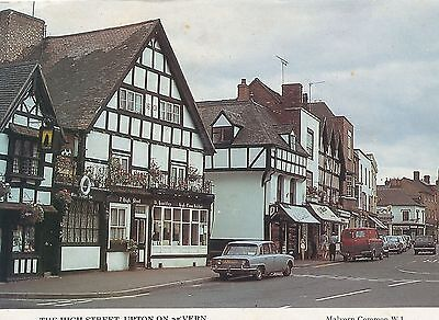 The High Street Upton On Severn Worcestershire old Postcard
