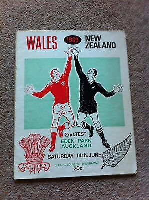 New Zealand v Wales Second Test 1969
