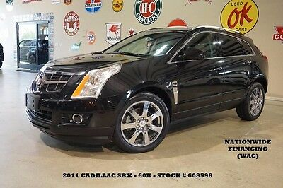 2011 Cadillac SRX Performance Collection ULTRA ROOF,NAV,HTD LTH,60K! 11 SRX PERFORMANCE AWD,ULTRA ROOF,NAV,HTD LTH,BOSE,CHROME WHLS,60K,WE FINANCE!!