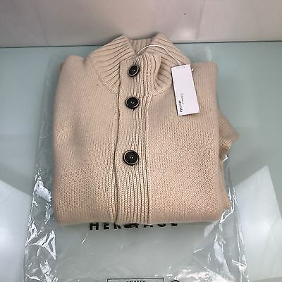 Maglia Uomo Heritage 100% Cashmere Cardigan 100% Made In Italy