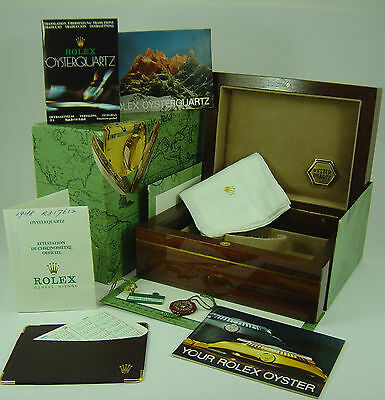 Genuine Rolex Oysterquartz Day-Date 19188 box set 1988