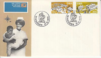 Education Medicine Hospital  South West Africa FDC 1976
