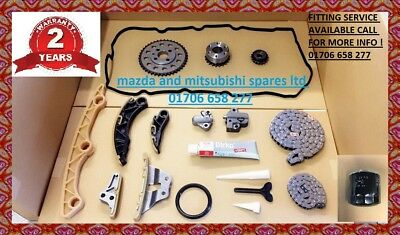 Mazda 3 6 Cx7 2.2 Diesel Timing Oil Pump Chain Tensioner Sprockets Guide Kit
