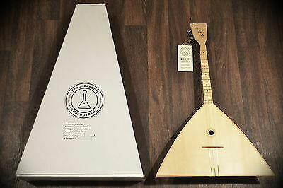 "Balalaika 3 Strings 3C-16 Manufaktura: ""Balalaiker""  Great work Beautiful sound"