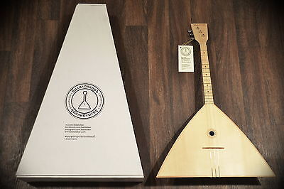 "Balalaika 3 Strings 3S-16 Manufaktura: ""Balalaiker""  Great work Beautiful sound"