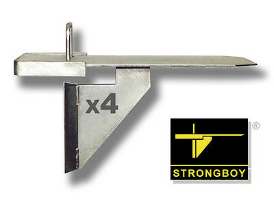 Strongboys ®  4 Strong Boy Acrow Prop Attachments - Masonry Supports