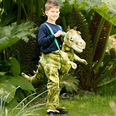 Ride on Dinosaur Boys 3-5 Years Fancy Dress Animal Book Day Kids Childs Costume