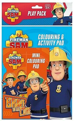 Fireman Sam: Play Pack (Colouring Book + Colouring Pad + Pencils)