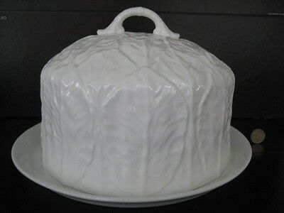 Wedgwood Large Lidded Cheese Dome Bell English Bone China Countryware Coalport