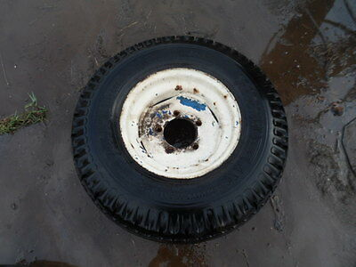 Tractor Trailer Farm Implement Wheels And Tyres X2