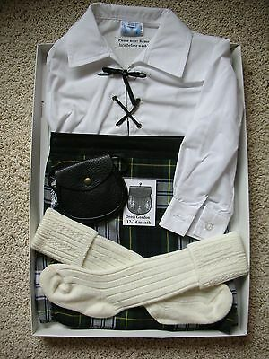 Dress Gordon Kilt Outfit for Child 12-24 months by Trewscot