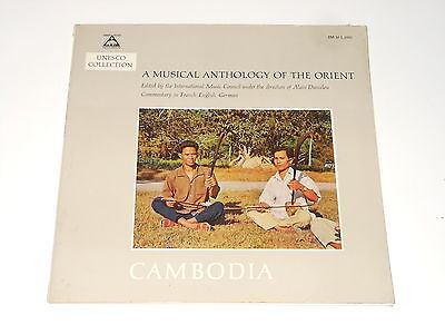Unesco Collection - LP - CAMBODIA - A Musical Anthology Of the Orient