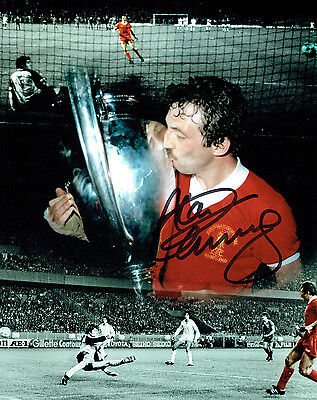 Alan KENNEDY SIGNED Liverpool 10x8 Montage Photo AFTAL COA Autograph