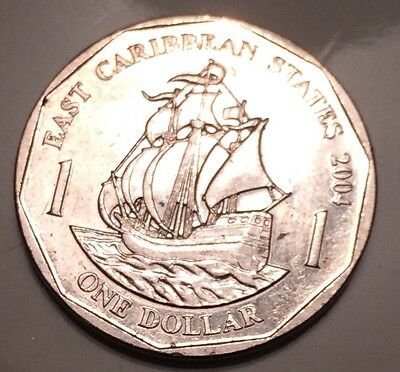 East Caribbean States 2000 For 1 Dollar Coin