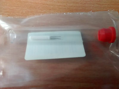 Brand new PT100 Resistance Temperature Sensor -200 to +650 °C, 15mm x 2.8 mm