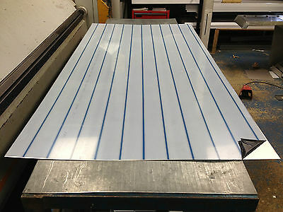 Stainless steel sheet 1.2mm 304 brushed 1250 x 2500