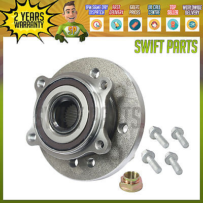 Front Wheel Bearing + 12Mm Bolts For Mini Cooper One & Works R50 R52 R53 2001-07