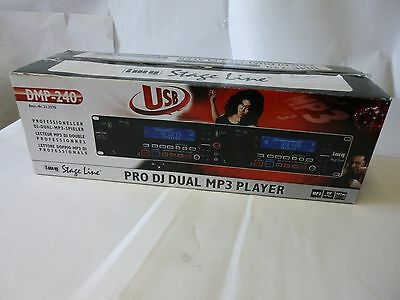 IMG Stage Line DMP-240 Professioneller DJ Dual MP3 Player DMP 240 21.2570