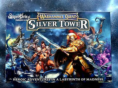 [S] Warhammer Quest Silver Tower /ENGLISH/ NEW + FREE GIFTS