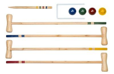 Professor Puzzle GG1496 Croquet Game - Traditional Wooden Summer Game