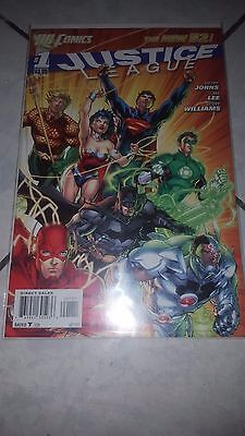 Justice League #1 The New 52