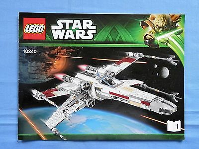 LEGO 10240 - Red Five X-Wing Starfighter - UCS - Construction Guides 1,2,3, Only