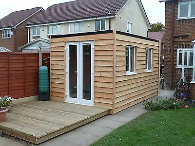 Insulated garden room from  £550m2 ( per square metre )
