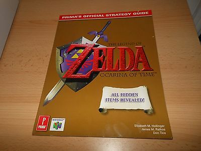 Prima Official Guide For Nintendo 64 N64 Zelda Ocarina Of Time