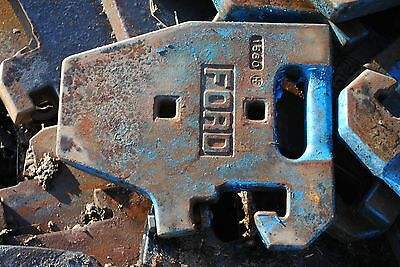 Ford/New Holland tractor weights x18