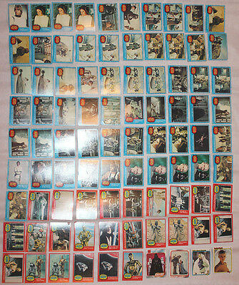 Star Wars 1977 collectors cards 20th century fox 90cards lot blue red a new hope