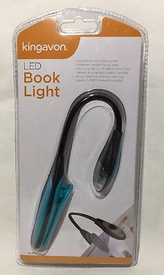 LED Book Light Bright Flexible Clip Office School Reading Gift Act As BookMark