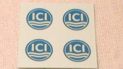 Triang, Hornby Lima Ect Ici X4 Wagon Transfers / Water Slide / Decal's Spares