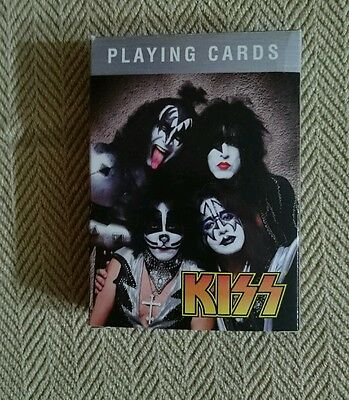 Kiss Poker Size Playing Cards