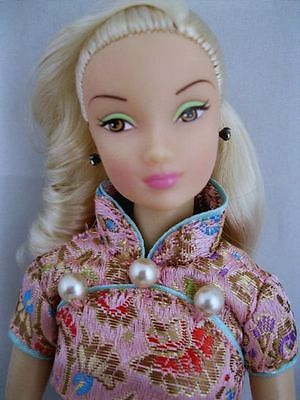 OOAK Custom China Blonde R&D susie doll MIB articulated joint body barbie size