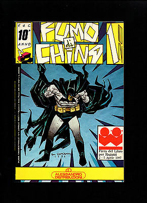 Fumo Di China N. 1/1987 - Batman - Bill Sienkiewicz - Pazienza  Magnus - Zanotto