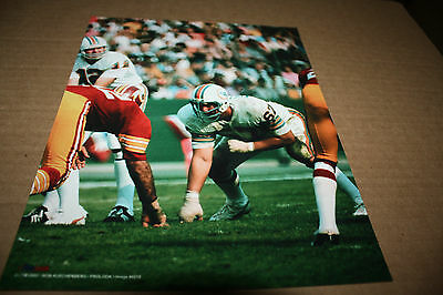 Miami Dolphins Bob Kuechenberg Unsigned 8x10 Photo Pose 1 3 99