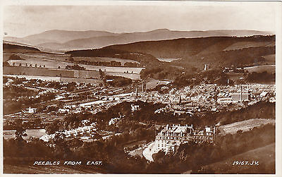 View From East, PEEBLES, Peeblesshire RP