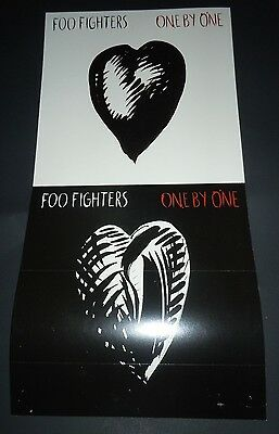 FOO FIGHTERS~One By One~Promo Poster Flat~Double Sided~12x24~NM~2002