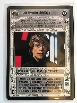 Star Wars CCG: Luke Skywalker, Jedi Knight - Ultra Rare, Death Star II [M/NM]