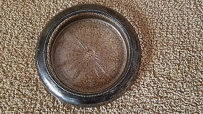 Sterling Silver Lined Ash Tray by Frank M. Whiting