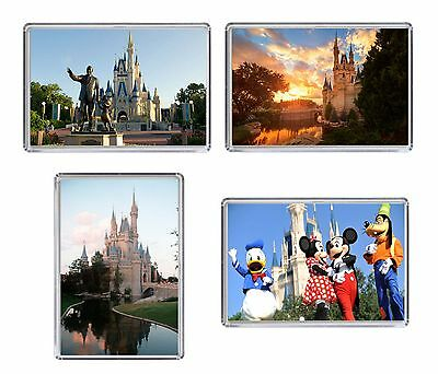 Disney World Florida Fridge Magnet Chose from 4 designs FREE POSTAGE