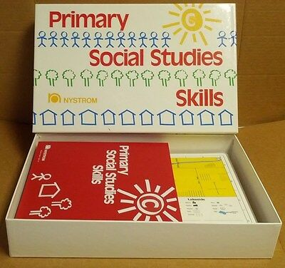 Nystrom Geography World USA Classroom Kit 60 Maps PRIMARY SOCIAL STUDIES SKILLS