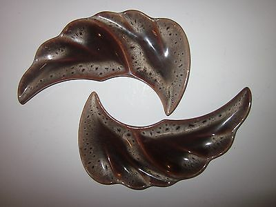 Beauceware Beauce Canada 1495 vintage set of 2 leaf dishes dish