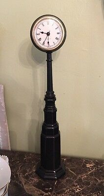 """Clock Accessory for Byers Choice Exclusive Working Street Clock 17"""" Tall"""