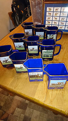 Martell Grand National Jugs 1989 - 1998 Perfect condition
