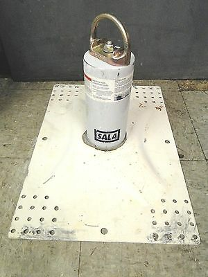 DBI/Sala Model 2100075 Tip Over Roof Roofing Anchor w/ Base Fall Protection