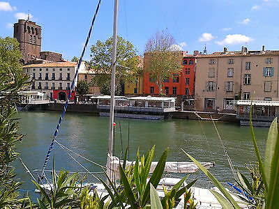 April May 2017 £14/pers/day South of France - 3 bedrooms with river views.