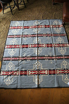 "PENDLETON CROSSROADS BLANKET/ROBE 64""x80""S NEW WITH TABS AND BOX ""NEW"""
